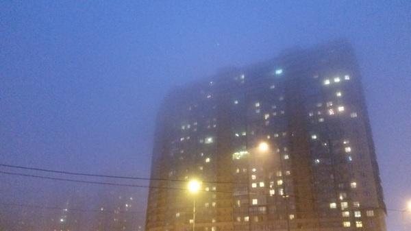 Санкт-Петербург, пятница, вечер. Санкт-Петербург, Туман, Вечер, Фото