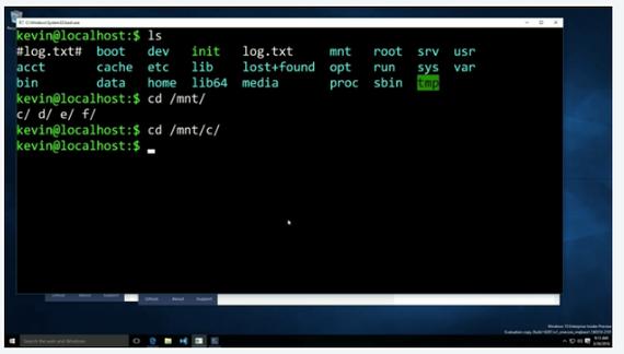 Windows 10, попытка заманить линуксоидов))) Windows, bash im, Microsoft