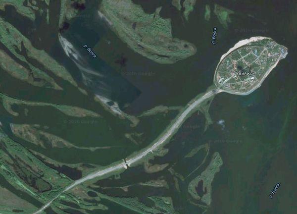 Зачатие новой планеты Сперматозоиды, Карты, Река