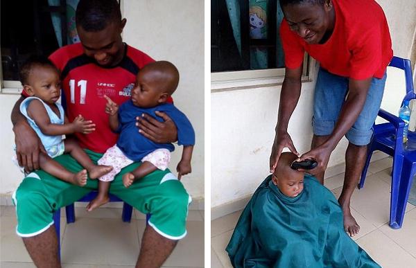 Нигерийский мальчик, брошенный умирать родителями, пошел на поправку Нигерия, Африка, Дети, мальчик, Hope, спасение, Anja Loven, длиннопост