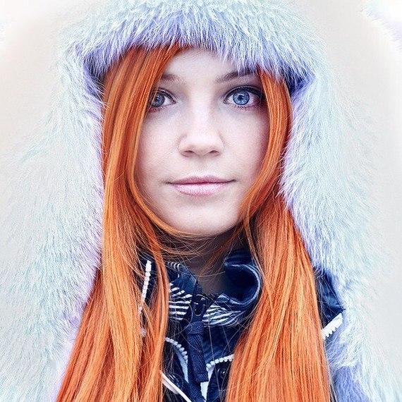 Русская девушка в питере