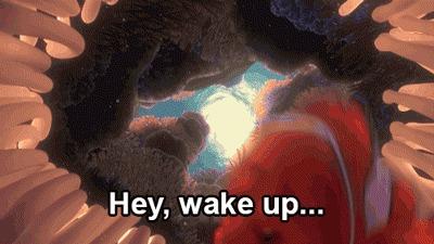 Проснись, уже понедельник!