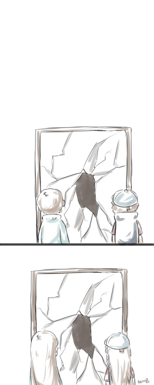 Зазеркалье в Гравити Фолз. Gravity Falls, Комиксы, Фанатское творчество, Зазеркалье, Длиннопост