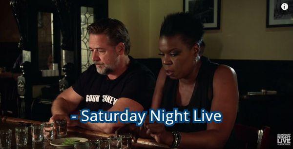 Никогда не пытайтесь перепить Рассела Кроу Рассел Кроу, SNL, Saturday night live, Раскадровка, Длиннопост