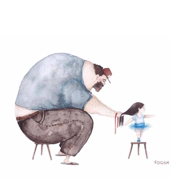 Юная дочь трахается с отцом