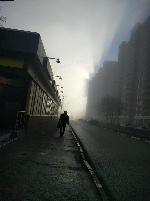 Вышел на улицу и почувствовал себя героем книги туман фильма мгла Кинга туман, мгла, Кинг, Кирпичи, Фото, красивое