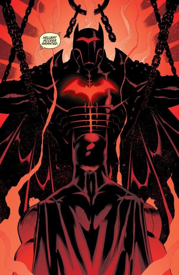 Самый стильный и смертоносный костюм Супергероя. DC, Комиксы, Бэтмен, Hellbat, Костюм, Адская кухня, Длиннопост