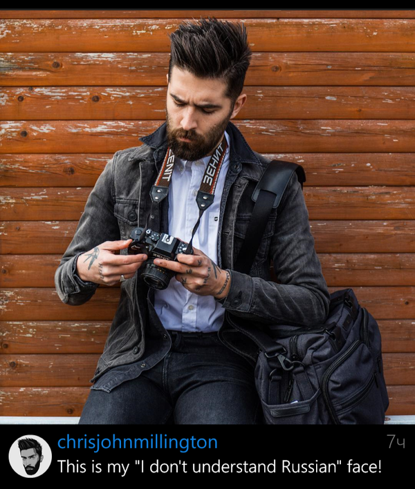 Отжигает chris millington