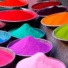 Цветной песок своими руками из соли и