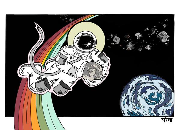 С Днем космонавтики! (с небольшим опозданием)