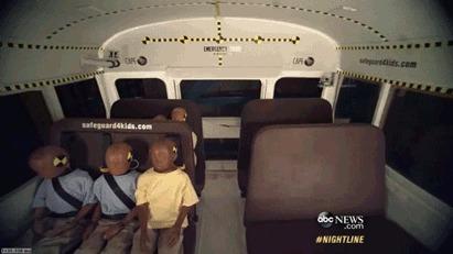 Краш-тест школьного автобуса