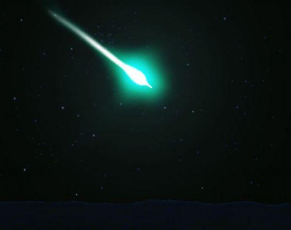 В севастопольском небе видели яркий метеорит Севастополь, Яркий, Метеорит, Видео