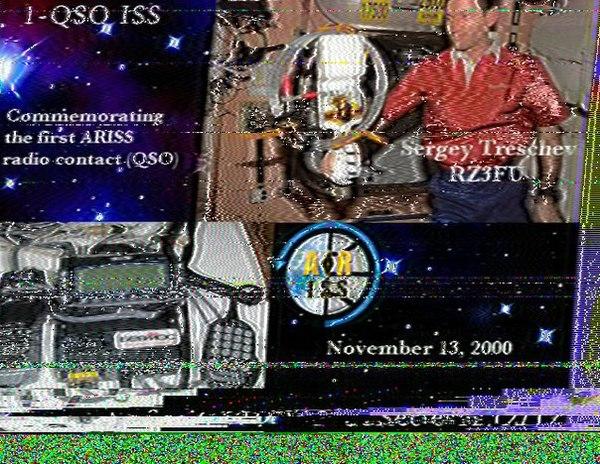 Прием SSTV-картинок с борта МКС МКС, Космонавт, Алексей Овчинин, SSTV, Un7jpb, День космонавтики, 55 лет, Видео, Длиннопост