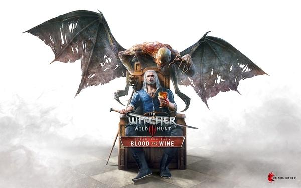 Официальный арт дополнения Blood and Wine для The Witcher 3