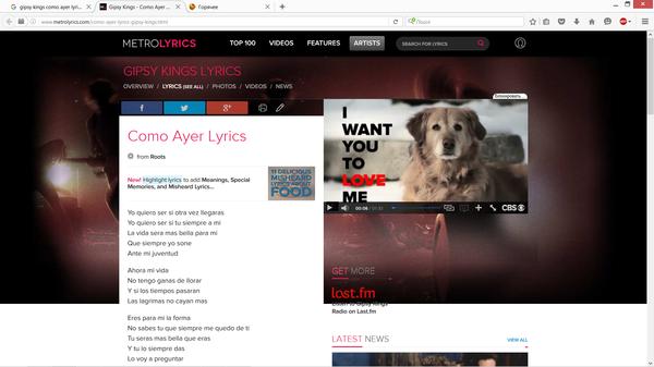 Шутки от рекламы :) gipsy kings, собака, юмор