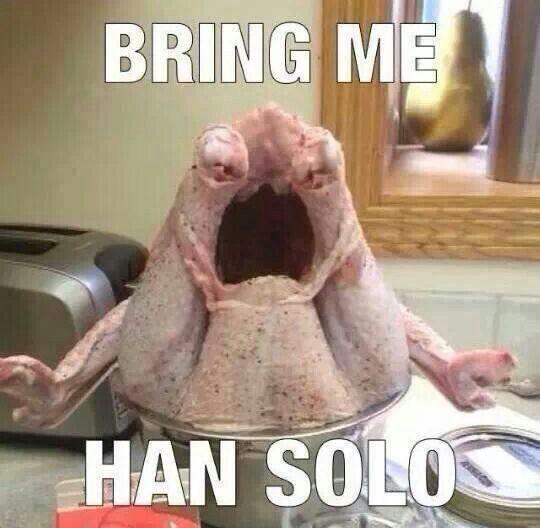 Приведите мне Хана Соло!