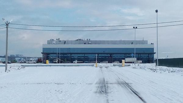 Новый аэропорт в Жуковском (ни грамма фотошопа, просто оказался в нужном месте в нужное время)