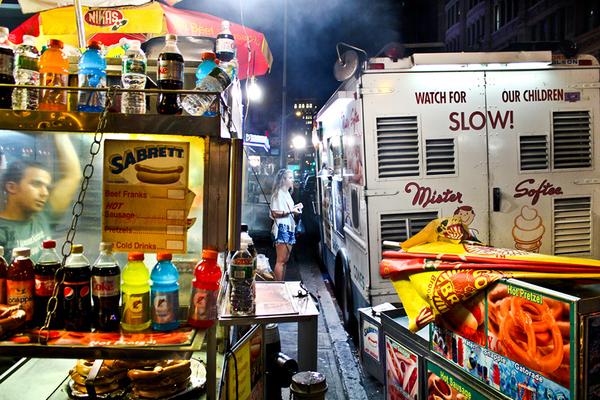 Хот-доги Нью-Йорка. Хот-Дог, Нью-Йорк, Еда, Длиннопост, Фото