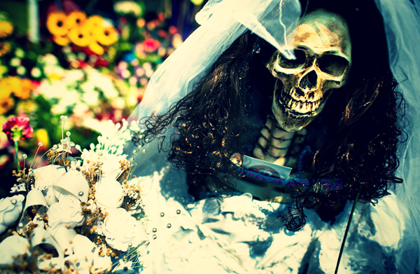 Святая Смерть Santa Muerte, Мексика, Религия, Смерть, Длиннопост