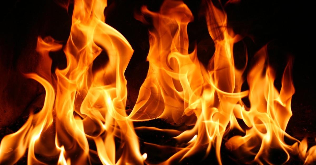 Спасатели вытащили из огня ребенка и беременную женщину