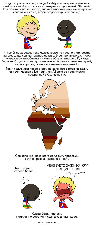 Мы все слишком хрупкие для этого мира Скандинавия и Мир, Satw, Комиксы, Длиннопост