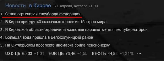 Новости кировские опять читайте. Йода, Новости, Киров