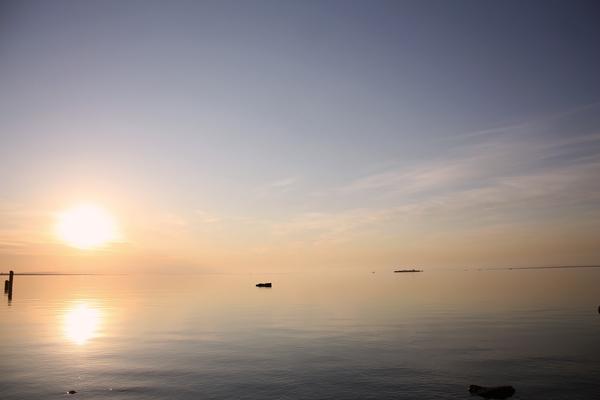 Безмятежность Финского залива..