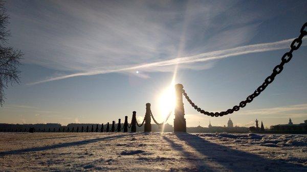 Морозный Санкт-Петербург Санкт-Петербург, Фото, Зима
