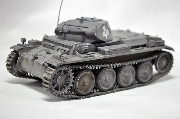 Pz Kpfw.II Ausf D Стендовый моделизм, Panzer, Модели, Длиннопост, Танки, Моделизм