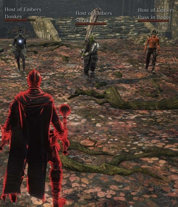 Убирайся из моего болота! Dark souls, Dark souls 3, Шрек, Игры