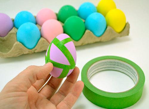 Как разукрасить яйца к пасхе своими руками