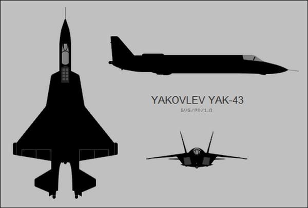 Прообразом американского F-35 был советский Як-43 1983 года Самолет, f-35, Як-43
