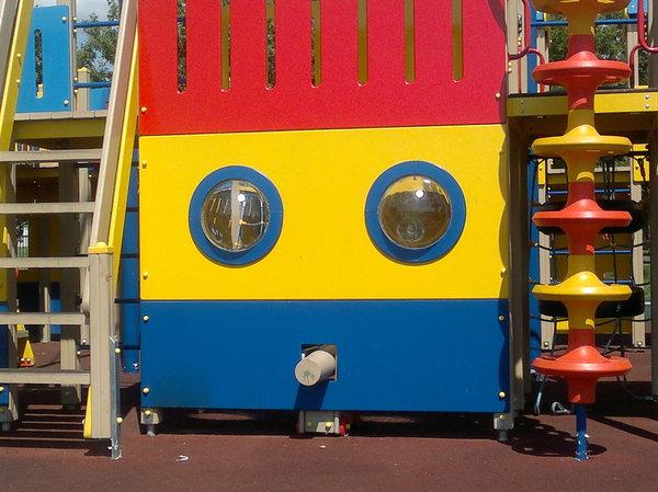 Удивленная площадка Детская площадка, Упоротый маф