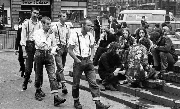 Сегодня был в городе.. Скинхеды, Мода, Идиотизм, 1960, Прошлый век