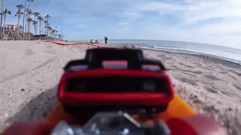 Пляжные гонки
