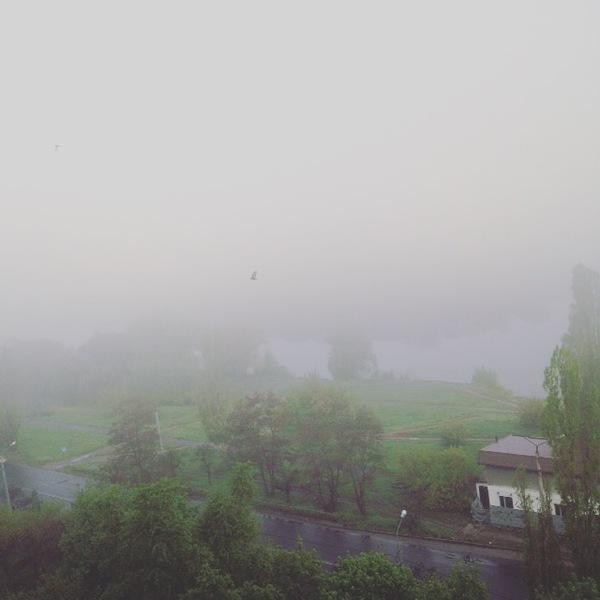 Утренний Silent Hill Фото, Silent hill, Вид из окна, Туман, Длиннопост