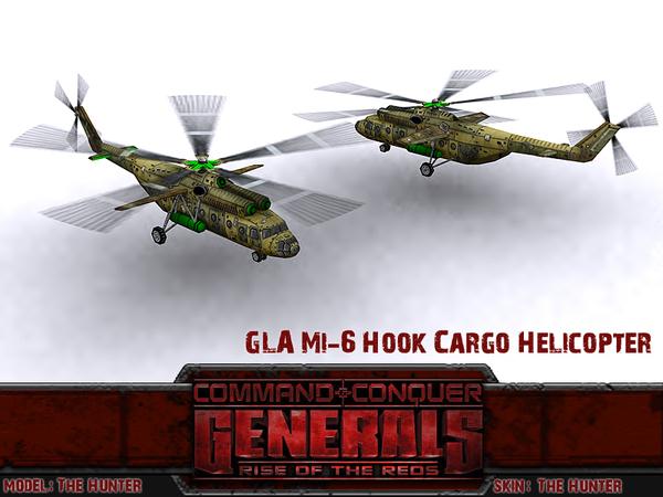 Грядущее обновление ROTR Ми-6, Command & Conquer, Игры, Моды, Вертолет, Длиннопост