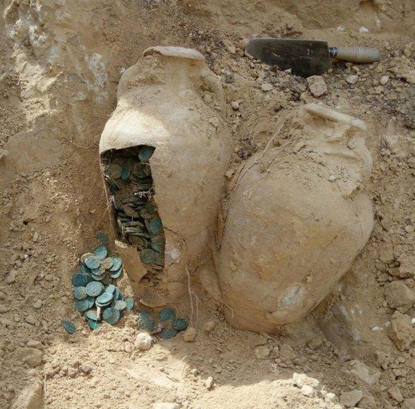 600кг римских монет найдено в Испании испания, монета, клад, длиннопост, интересное