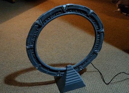 Звездные врата напечатанные на 3D принтере