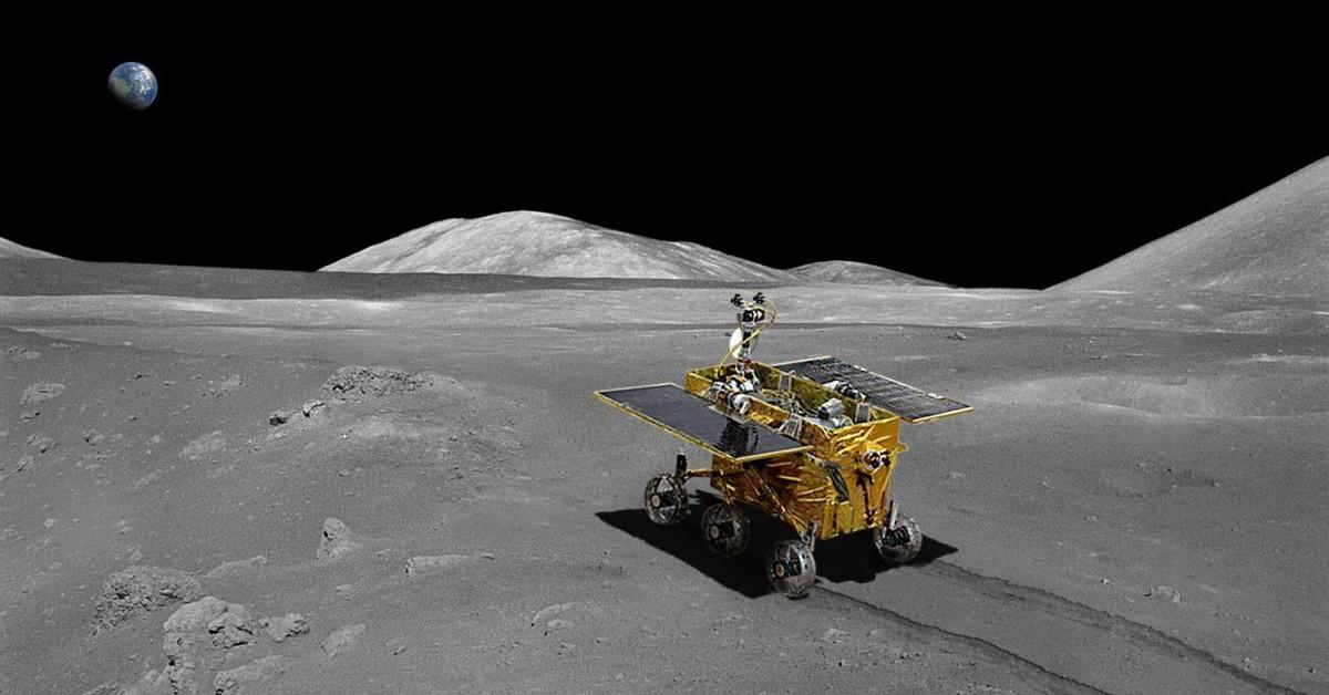 china lands on the moon historic robotic lunar landing - HD1920×1080
