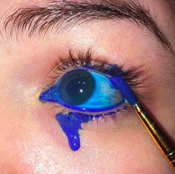 Eyexampic - арт, ерунда или жуть? Картинки, Глаза, Eyexam, Длиннопост, Жесть