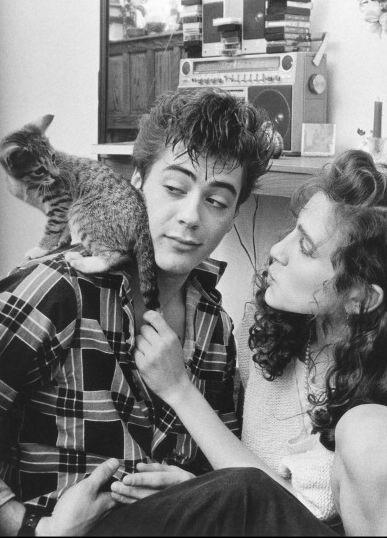 Роберт Дауни младший , Сара Джессика Паркер и котэ ...