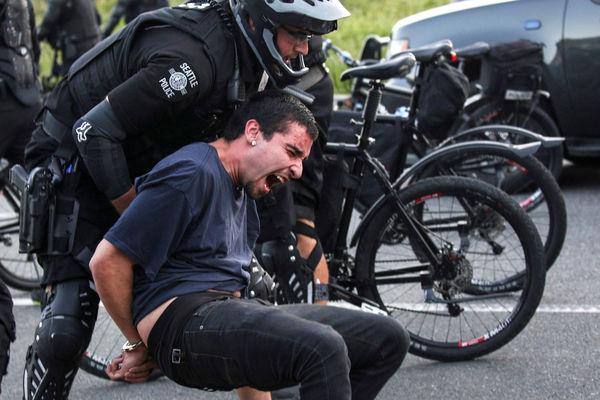 Заморские диковинки: велополиция Сиэтла велосипед, полиция, США, видео, длиннопост