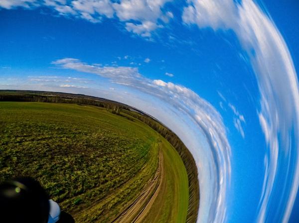 Последнее фото квадрокоптера перед его крушением... квадрокоптер, фотография, Крушение