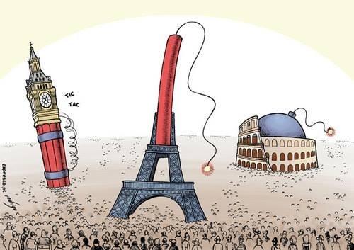 Жителей ЕС научат тому, что смертники – мученики и герои Политика, Евросоюз, Террористы, Мученики, Толерантность