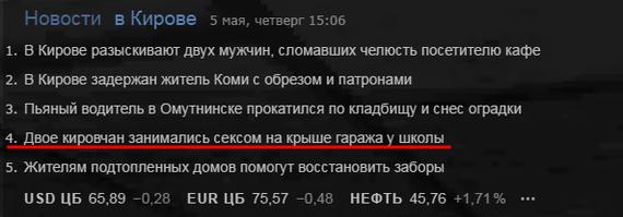 Киров - романтичный город. Киров, Романтика, Новости