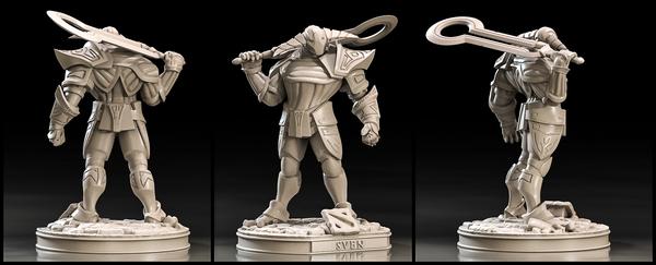 Фигурка героя Dota 2 для сборки (Sven) 3d печать, Dota 2, Zbrush, SVEN