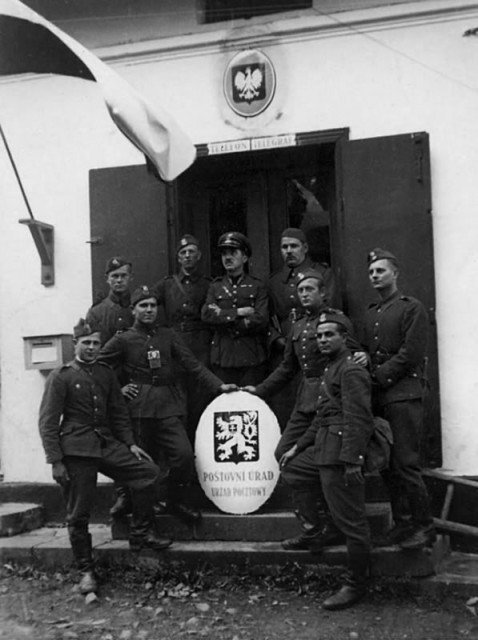 Раздел Чехословакии Германией и Польшей привёл к началу Второй Мировой Войны Вторая мировая война, История, Польша, СССР, Германия-Польша, Германия, Длиннопост