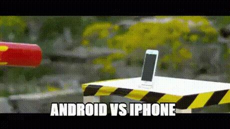 Вся суть спора adnroid и apple фонов