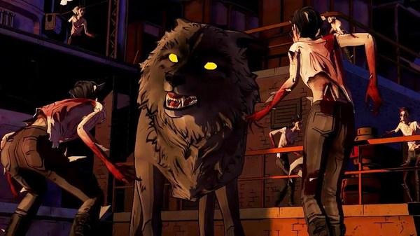Bigby wolf transformed
